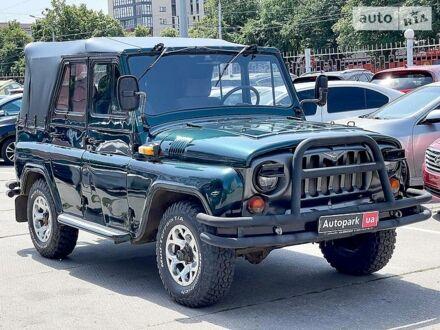 Зеленый УАЗ 3151, объемом двигателя 2.4 л и пробегом 40 тыс. км за 3990 $, фото 1 на Automoto.ua