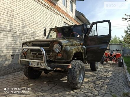 Зелений УАЗ 31512, об'ємом двигуна 2.4 л та пробігом 92 тис. км за 3500 $, фото 1 на Automoto.ua