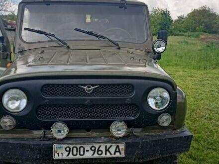 Зеленый УАЗ 31514, объемом двигателя 2.4 л и пробегом 100 тыс. км за 2500 $, фото 1 на Automoto.ua