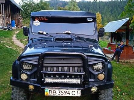 Зеленый УАЗ 31514, объемом двигателя 2.4 л и пробегом 75 тыс. км за 3200 $, фото 1 на Automoto.ua