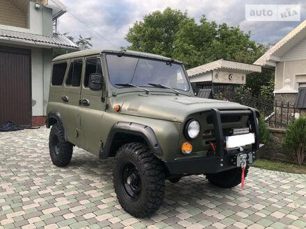 Зеленый УАЗ 31514, объемом двигателя 2.4 л и пробегом 40 тыс. км за 6500 $, фото 1 на Automoto.ua