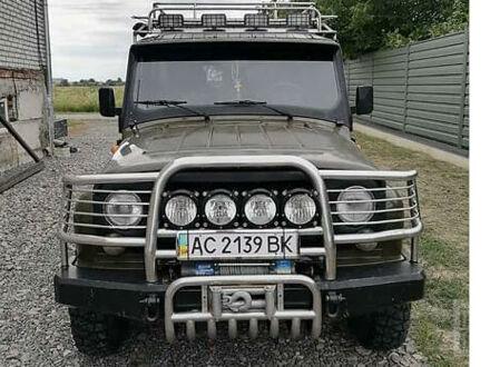 Зеленый УАЗ 31519, объемом двигателя 2.4 л и пробегом 75 тыс. км за 7200 $, фото 1 на Automoto.ua