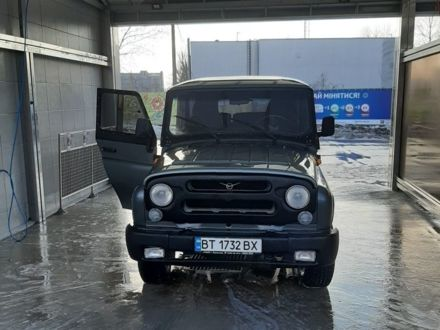 Оливковий УАЗ 315195, об'ємом двигуна 2.7 л та пробігом 175 тис. км за 6500 $, фото 1 на Automoto.ua
