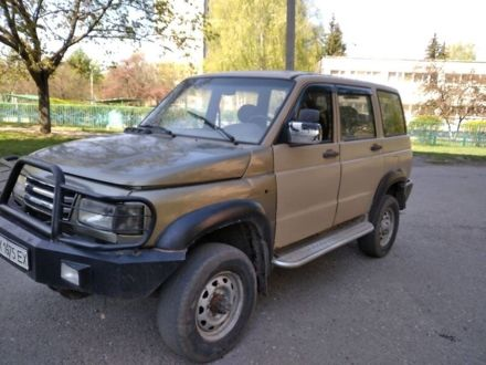 Бежевий УАЗ 3160 Симбир, об'ємом двигуна 2.7 л та пробігом 280 тис. км за 2950 $, фото 1 на Automoto.ua