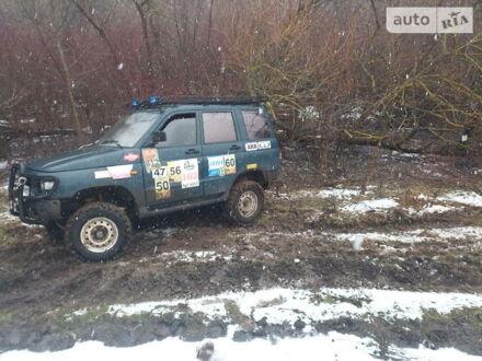Зелений УАЗ 3160 Симбир, об'ємом двигуна 2.7 л та пробігом 70 тис. км за 6200 $, фото 1 на Automoto.ua