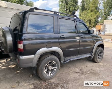 Чорний УАЗ 3163-10 Патріот, об'ємом двигуна 2.7 л та пробігом 1 тис. км за 0 $, фото 1 на Automoto.ua