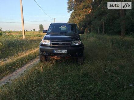 Черный УАЗ 3163, объемом двигателя 2.7 л и пробегом 185 тыс. км за 6000 $, фото 1 на Automoto.ua