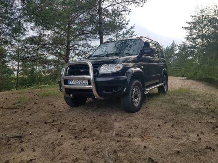 Черный УАЗ 3163, объемом двигателя 2.7 л и пробегом 300 тыс. км за 3900 $, фото 1 на Automoto.ua