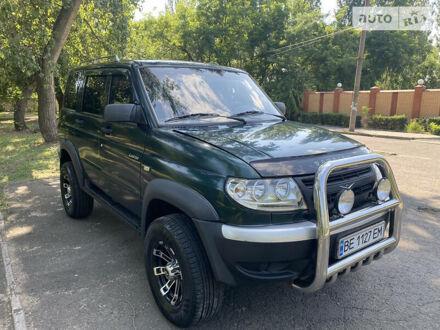 Зеленый УАЗ 3163, объемом двигателя 2.7 л и пробегом 125 тыс. км за 5700 $, фото 1 на Automoto.ua