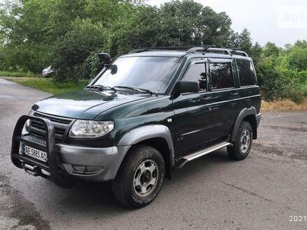 Зеленый УАЗ 3163, объемом двигателя 2.7 л и пробегом 100 тыс. км за 5200 $, фото 1 на Automoto.ua