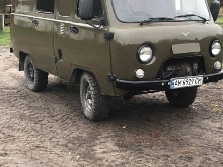 Зелений УАЗ 3909, об'ємом двигуна 2.9 л та пробігом 100 тис. км за 5800 $, фото 1 на Automoto.ua