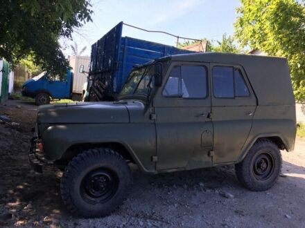 Оливковий УАЗ 469, об'ємом двигуна 2.5 л та пробігом 1 тис. км за 1000 $, фото 1 на Automoto.ua