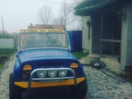 Синій УАЗ 469, об'ємом двигуна 2.4 л та пробігом 497 тис. км за 3700 $, фото 1 на Automoto.ua