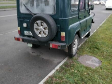 Зелений УАЗ 469, об'ємом двигуна 2.4 л та пробігом 1 тис. км за 2500 $, фото 1 на Automoto.ua