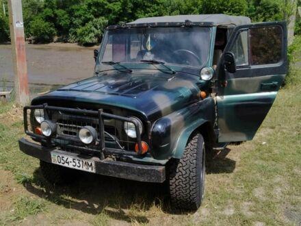 Зелений УАЗ 469, об'ємом двигуна 2.4 л та пробігом 78 тис. км за 2000 $, фото 1 на Automoto.ua
