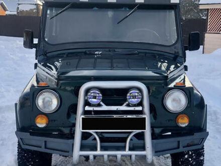 Зелений УАЗ 469, об'ємом двигуна 2.5 л та пробігом 80 тис. км за 3550 $, фото 1 на Automoto.ua