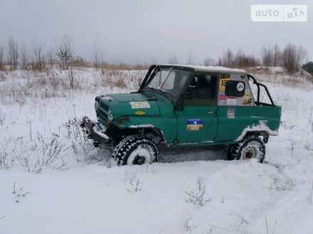 Зелений УАЗ 469, об'ємом двигуна 2.4 л та пробігом 130 тис. км за 1800 $, фото 1 на Automoto.ua