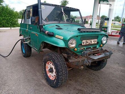 Зелений УАЗ 469, об'ємом двигуна 2.4 л та пробігом 130 тис. км за 1300 $, фото 1 на Automoto.ua