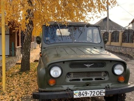 Зелений УАЗ 469, об'ємом двигуна 2.4 л та пробігом 1 тис. км за 2000 $, фото 1 на Automoto.ua