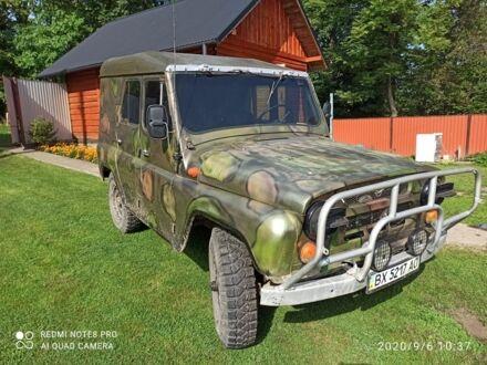 Зелений УАЗ 469, об'ємом двигуна 2.4 л та пробігом 24 тис. км за 3500 $, фото 1 на Automoto.ua