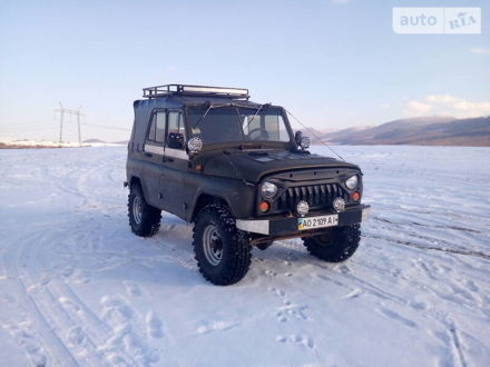 Зелений УАЗ 469, об'ємом двигуна 2.4 л та пробігом 39 тис. км за 4500 $, фото 1 на Automoto.ua