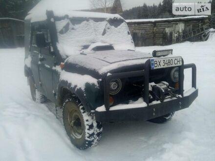 Зеленый УАЗ 469Б, объемом двигателя 2.4 л и пробегом 10 тыс. км за 3500 $, фото 1 на Automoto.ua