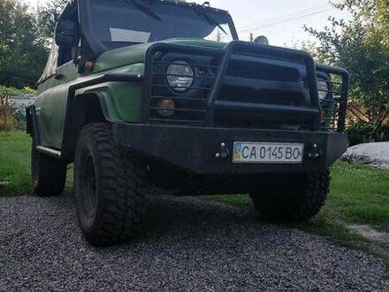 Зеленый УАЗ 469Б, объемом двигателя 2.4 л и пробегом 3 тыс. км за 8100 $, фото 1 на Automoto.ua