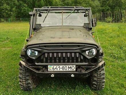 Зелений УАЗ 469Б, об'ємом двигуна 2.4 л та пробігом 45 тис. км за 3800 $, фото 1 на Automoto.ua
