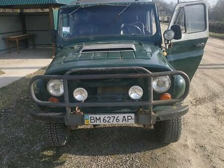 Зеленый УАЗ 469Б, объемом двигателя 2.8 л и пробегом 60 тыс. км за 3500 $, фото 1 на Automoto.ua