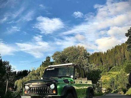 Зеленый УАЗ 469Б, объемом двигателя 2.4 л и пробегом 333 тыс. км за 3250 $, фото 1 на Automoto.ua
