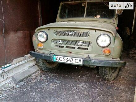 Зелений УАЗ 469Б, об'ємом двигуна 2.4 л та пробігом 80 тис. км за 1600 $, фото 1 на Automoto.ua