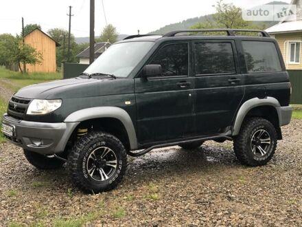 Черный УАЗ Патриот, объемом двигателя 2.7 л и пробегом 57 тыс. км за 5500 $, фото 1 на Automoto.ua