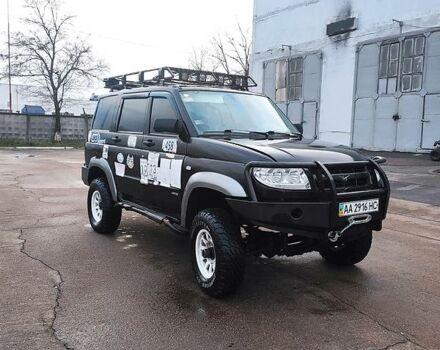 Черный УАЗ Патриот, объемом двигателя 2.7 л и пробегом 74 тыс. км за 5200 $, фото 1 на Automoto.ua