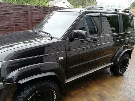 Черный УАЗ Патриот, объемом двигателя 2.7 л и пробегом 220 тыс. км за 6800 $, фото 1 на Automoto.ua