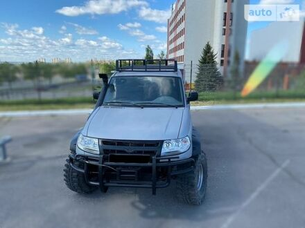 Серый УАЗ Патриот, объемом двигателя 2.7 л и пробегом 56 тыс. км за 8500 $, фото 1 на Automoto.ua