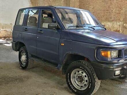 Синий УАЗ Патриот, объемом двигателя 2.9 л и пробегом 99 тыс. км за 3299 $, фото 1 на Automoto.ua
