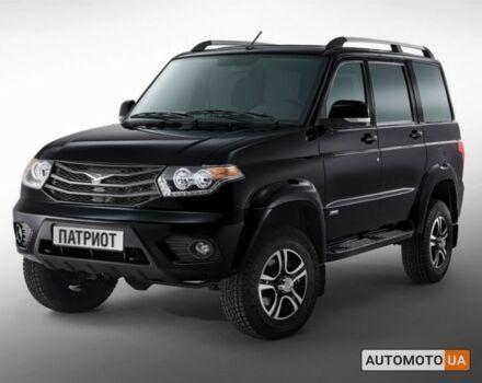 Черный УАЗ Патриот, объемом двигателя 2.7 л и пробегом 0 тыс. км за 23629 $, фото 1 на Automoto.ua