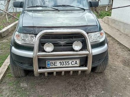 Зеленый УАЗ Патриот, объемом двигателя 2.7 л и пробегом 280 тыс. км за 4200 $, фото 1 на Automoto.ua