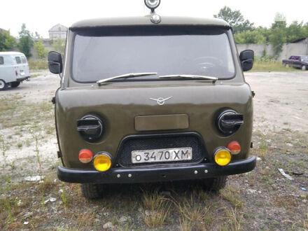 Зелений УАЗ скорая помощь-пассажир., об'ємом двигуна 2.5 л та пробігом 50 тис. км за 3000 $, фото 1 на Automoto.ua