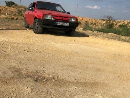 Красный ВАЗ 1111 Ока, объемом двигателя 1.3 л и пробегом 98 тыс. км за 1400 $, фото 1 на Automoto.ua