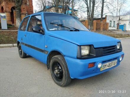 Синий ВАЗ 1111 Ока, объемом двигателя 0.65 л и пробегом 75 тыс. км за 933 $, фото 1 на Automoto.ua