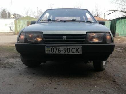 Зеленый ВАЗ 1111 Ока, объемом двигателя 1.1 л и пробегом 77 тыс. км за 900 $, фото 1 на Automoto.ua