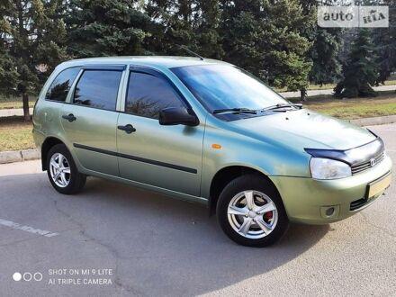 Зеленый ВАЗ 1117, объемом двигателя 1.4 л и пробегом 88 тыс. км за 4600 $, фото 1 на Automoto.ua