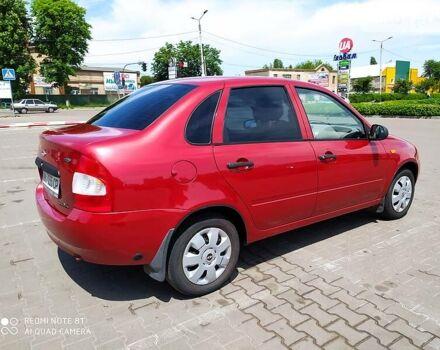 Красный ВАЗ 1118, объемом двигателя 1.6 л и пробегом 120 тыс. км за 3400 $, фото 1 на Automoto.ua