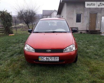Красный ВАЗ 1118, объемом двигателя 1.4 л и пробегом 159 тыс. км за 3200 $, фото 1 на Automoto.ua