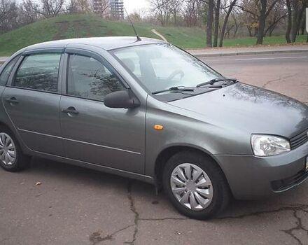 Серый ВАЗ 1118, объемом двигателя 1.4 л и пробегом 80 тыс. км за 3800 $, фото 1 на Automoto.ua