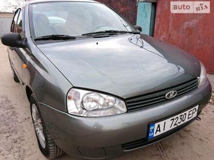 Серый ВАЗ 1118, объемом двигателя 1.6 л и пробегом 94 тыс. км за 3900 $, фото 1 на Automoto.ua
