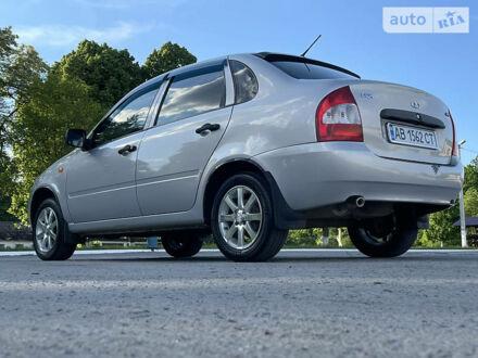 Серый ВАЗ 1118, объемом двигателя 1.4 л и пробегом 82 тыс. км за 3499 $, фото 1 на Automoto.ua