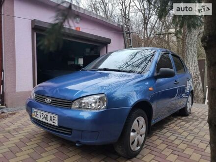 Синий ВАЗ 1118, объемом двигателя 1.6 л и пробегом 89 тыс. км за 2900 $, фото 1 на Automoto.ua