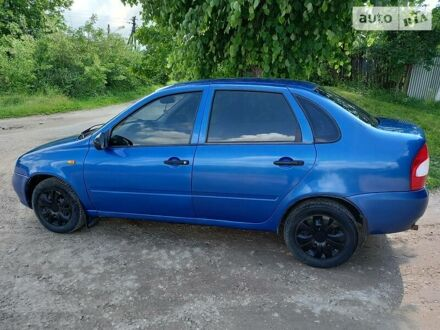 Синий ВАЗ 1118, объемом двигателя 1.6 л и пробегом 213 тыс. км за 2450 $, фото 1 на Automoto.ua